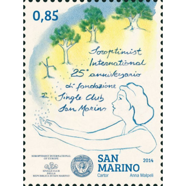 25° Anniversario di fondazione del Soroptimist International Single Club San Marino