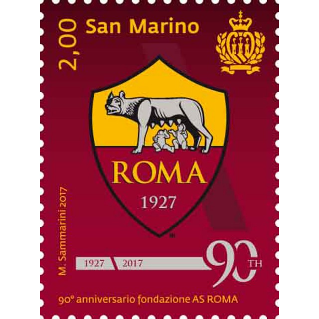 90th anniversary of the foundation of AS ROMA
