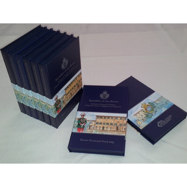 Divisional Coins Set in Proof  and 2 Euro commemorative coin in proof