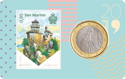 Stamp and coincard n.03 - 2019