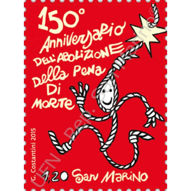150th anniversary of the abolition of the death penalty in San Marino